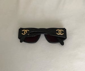 accessories, chanel, and sunglasses image
