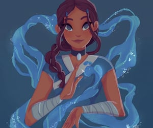 art, water, and avatar image