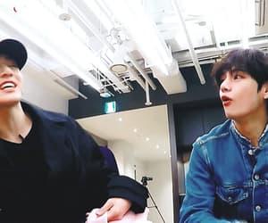 gif, taehyung, and kookv image