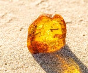 amber and crystal image