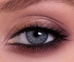 eyeshadow, beauty, and blue image