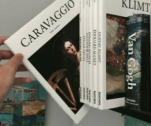 book, art, and caravaggio image