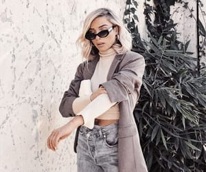 accessories, chic, and denim image