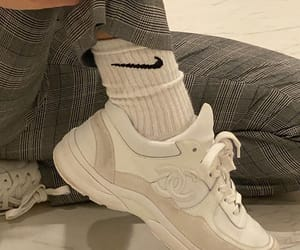 shoes, beige, and sneakers image