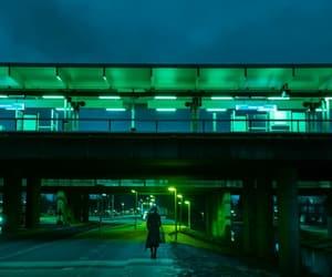night and street image
