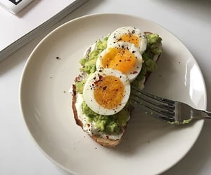 food, avocado, and aesthetic image