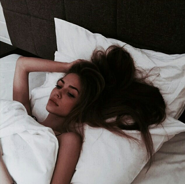 article, asleep, and bed image
