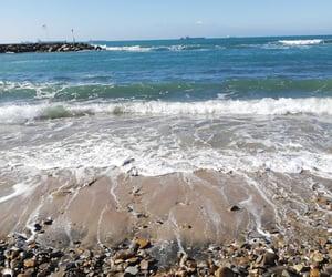 beach, memories, and sand image