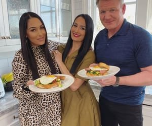 gordon ramsay, wwe, and brie bella image