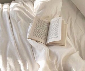 book, white, and aesthetic image
