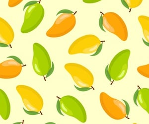green, yellow, and mango image