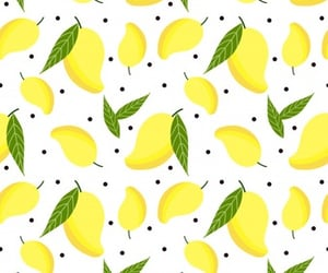 mango, pattern, and tropical image