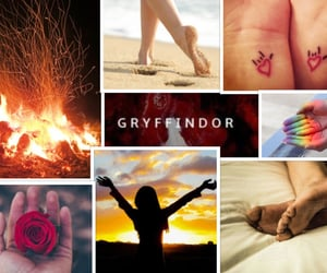 aesthetic, Collage, and harry potter image