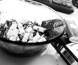 cigarrete, forget, and sad image