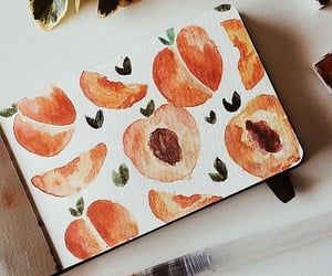 apricot, creative, and drawing image