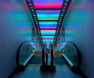 90s, cyberpunk, and neon image
