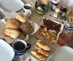 bacon, coffee, and yummi image