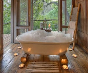 bath, travel, and aesthetic image