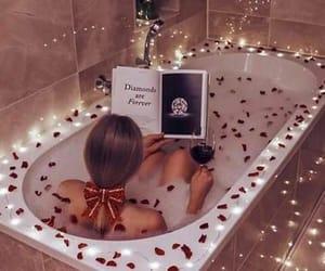 bath, beauty, and diamonds image