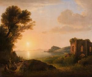 19th century, capri, and painting image