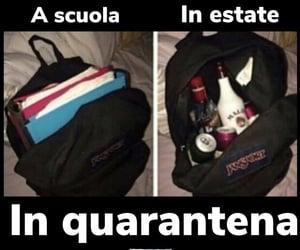 estate, scuola, and italia image