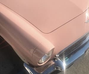 aesthetic, car, and pink image