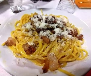 food, italy, and meal image