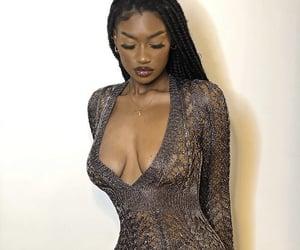 beautiful, braids, and dress image