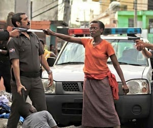 mother and police image
