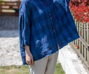 etsy, oversized blouse, and linen shirt women image