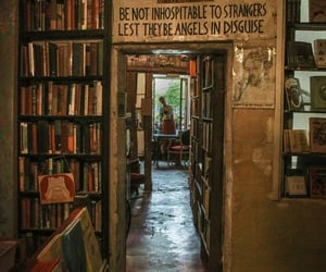 book store, bookshop, and books image