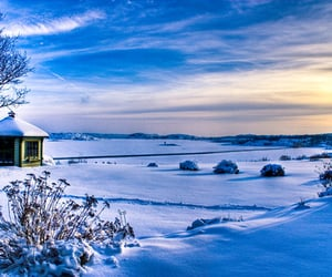 hdr, ice, and landscape image