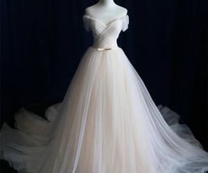 prom dresses, cheap prom dresses, and champagne prom dresses image