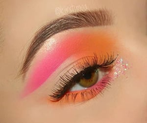 art, beauty, and eye image