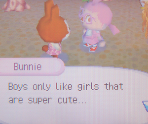pink, animal crossing, and boys image