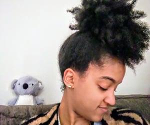 animal print, style, and black girl image