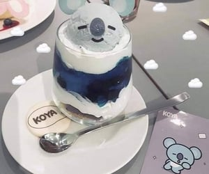 dessert, ice cream, and Koala image