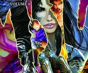 90s, comic, and witchblade image
