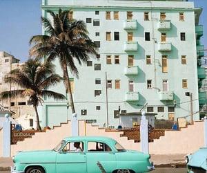 cuba, building, and car image