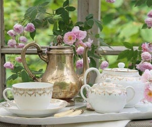 afternoon tea, cozy, and tea time image