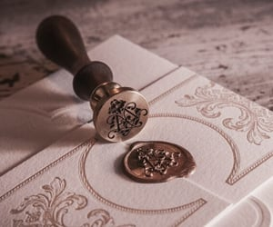aesthetic, Letter, and royal image
