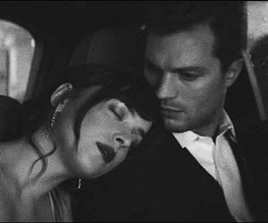 romance, christian grey, and love image