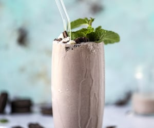 Cookies, mint, and cream shake image