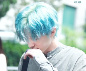 blue hair, day6, and 제이 image
