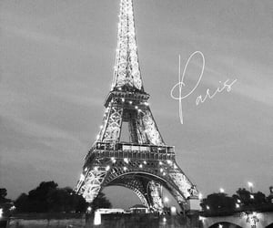city, paris, and black and white image