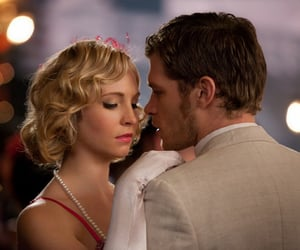 the vampire diaries, candice accola, and klaus mikaelson image