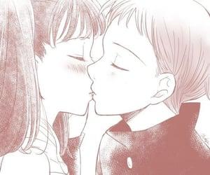 anime, couple, and anime girl image