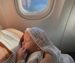 baby, family, and travel image