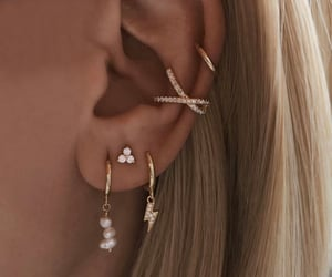 details, fashion, and earings image