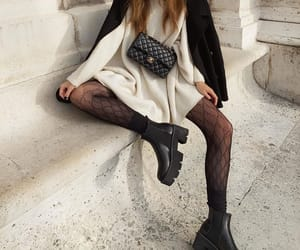 chanel, fashion, and boots image